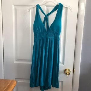 Dresses & Skirts - Teal cotton dress